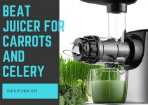 Beat juicer for carrots and celery