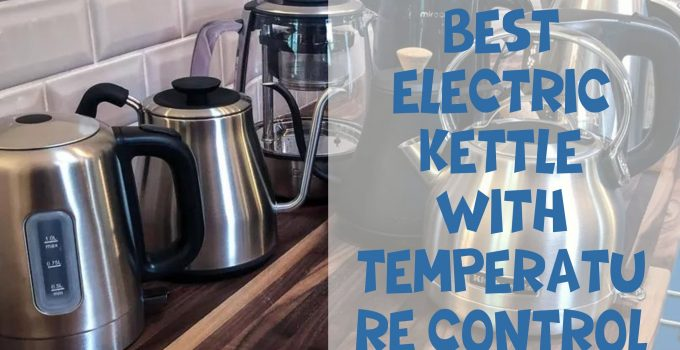 Best electric kettle with temperature control